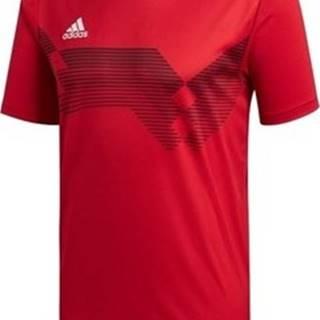 adidas Trička s krátkým rukávem Campeon 19 Červená