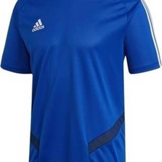 adidas Trička s krátkým rukávem Tiro 19 Training Modrá