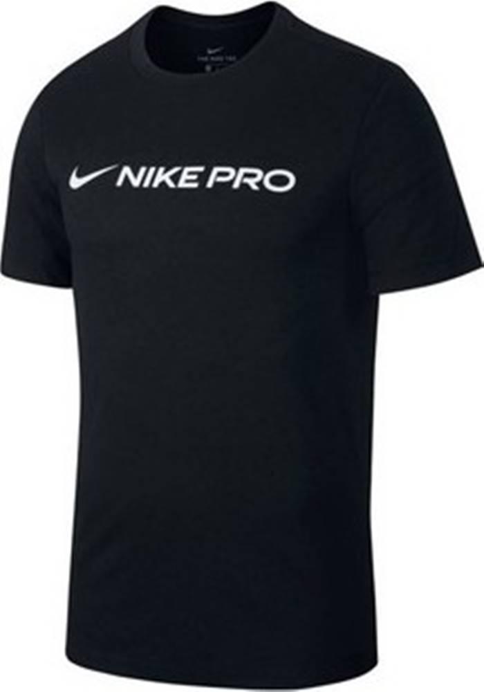 nike Nike Trička s krátkým rukávem Pro Dry Tee Černá
