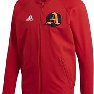 adidas Teplákové bundy Vrct Jacket Červená