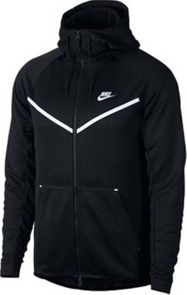 nike Nike Teplákové bundy Nsw Tech Icon Windrunner Černá