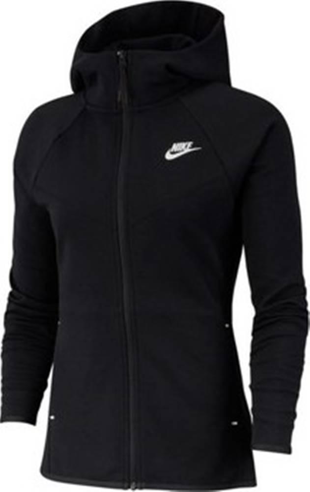 nike Nike Mikiny Sportswear Windrunner Tech Fleece Černá