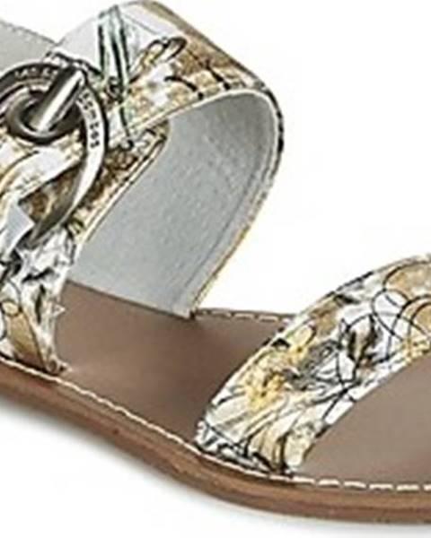 Bílé sandály Les Petites Bombes
