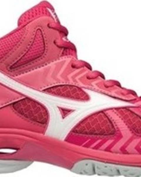 Růžové tenisky Mizuno