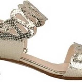 Melluso Sandály K35104L Zlatá
