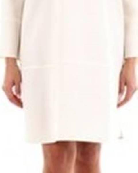 Bílé šaty Gianluca Capannolo