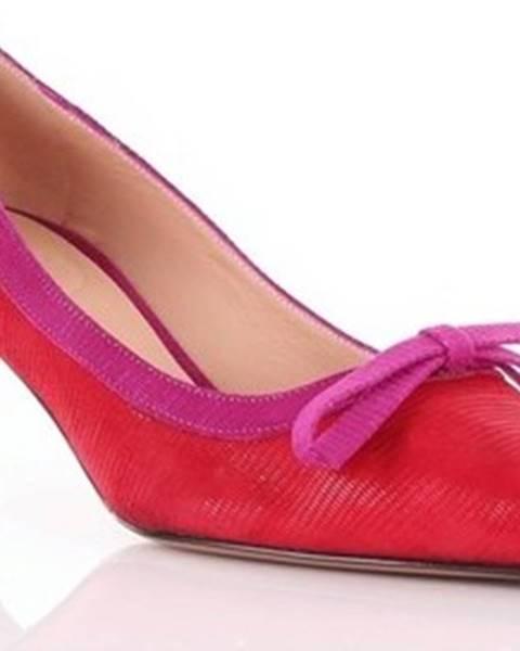 Červené boty Roberto Festa Milano