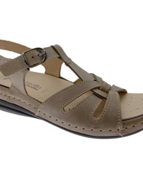 Béžové sandály Riposella