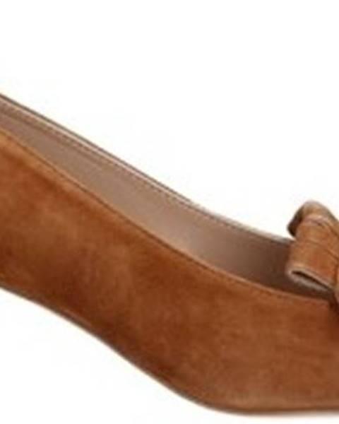 Hnědé boty Alexandra/marta Mari