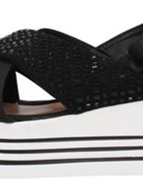 Černé sandály Energy