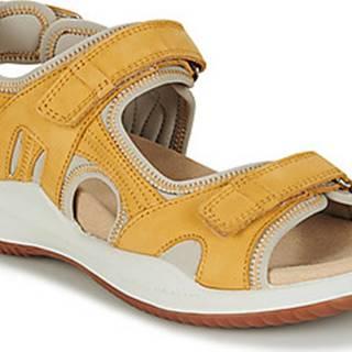 Romika Westland Sandály SUMATRA 01 Žlutá