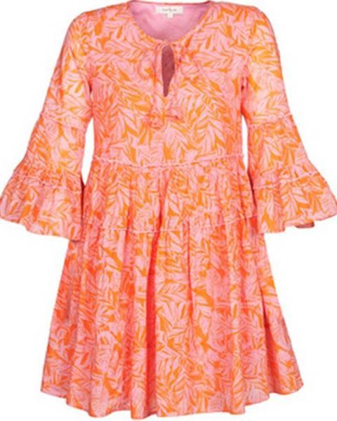 Růžové šaty Derhy