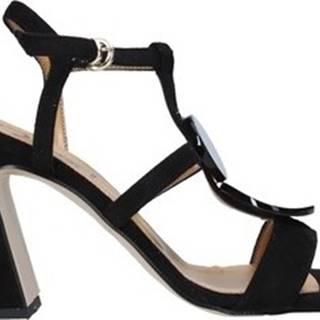 Grace Shoes Sandály 2384008 Černá
