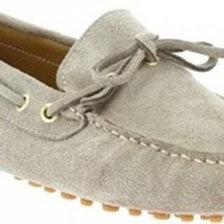 Leonardo Shoes Mokasíny 3041 CAMOSCIO SABBIA Béžová