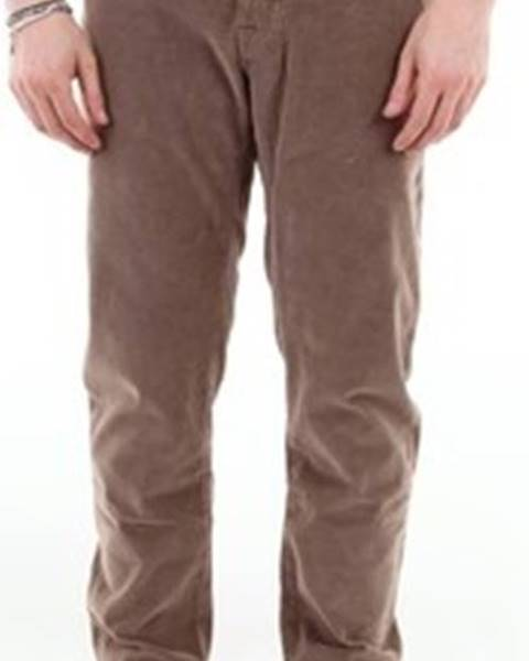 Hnědé kalhoty Jacob Cohen