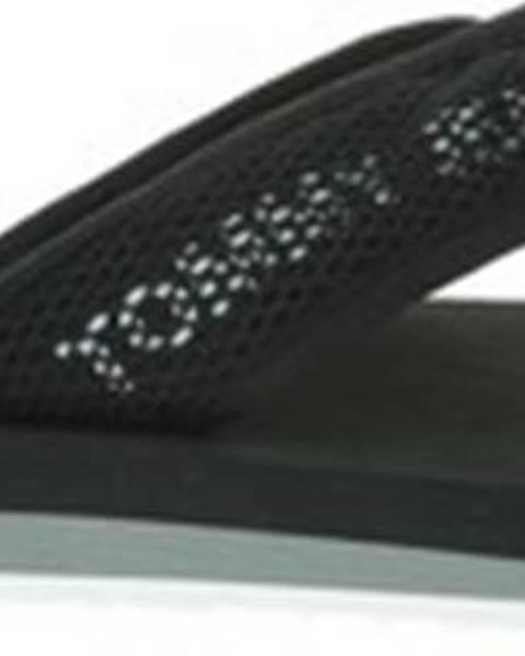 Černé pantofle tommy hilfiger