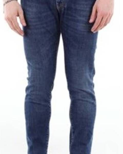 Modré kalhoty Barba Napoli