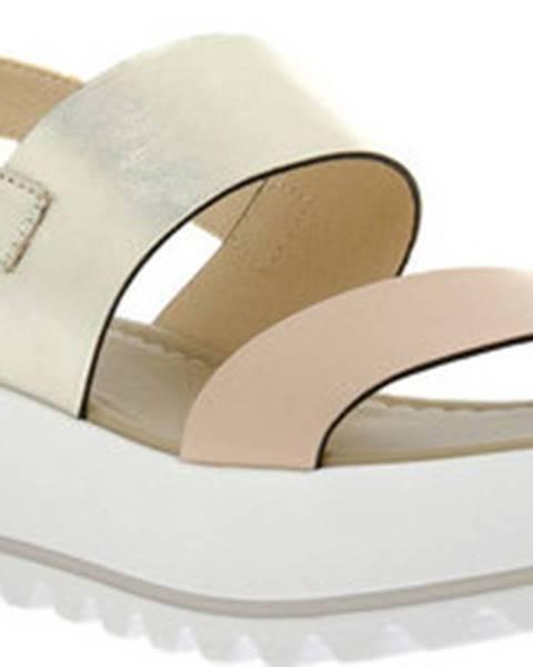 Růžové sandály Nero Giardini