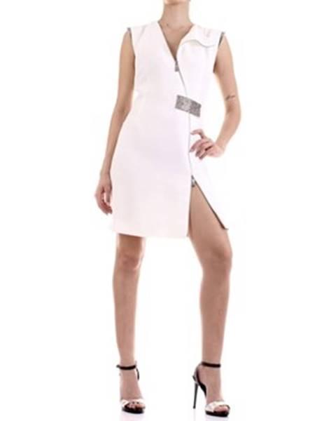 Bílé šaty John Richmond
