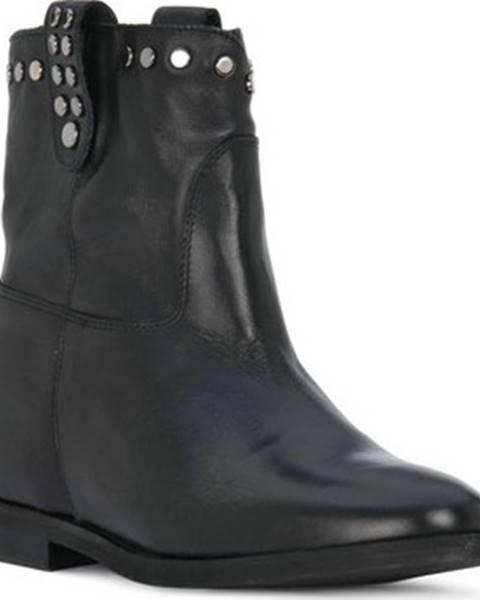 Černé boty Priv Lab