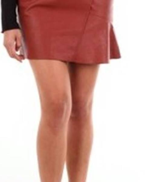 Oranžová sukně 8 Pm