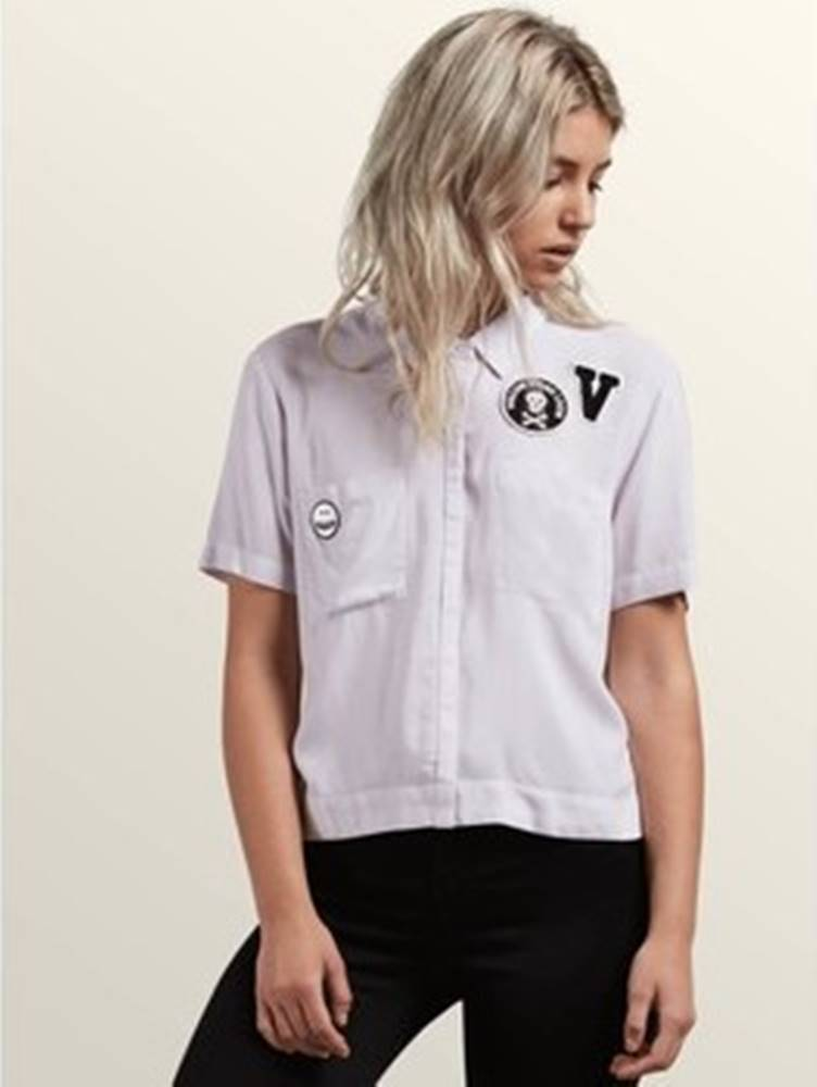 Volcom Volcom Košile / Halenk Women's Stone Resort SS Shirt LPU ruznobarevne