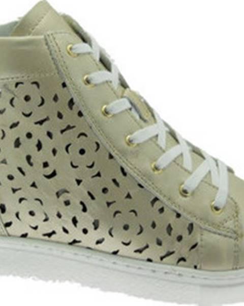 Béžové boty Calzaturificio Loren