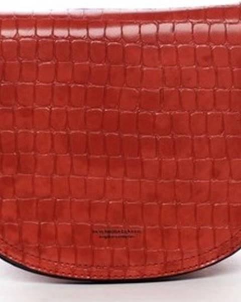 Červená kabelka Silvia Rosa