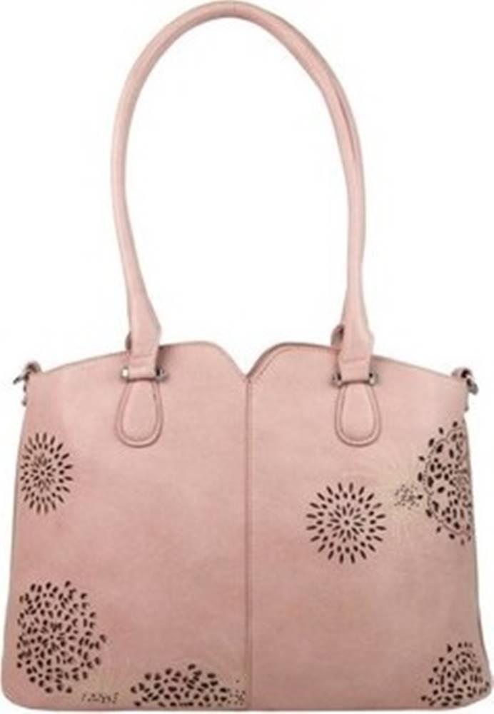 BELLA BELLY Bella Belly Tašky přes rameno Růžová dámská kabelka přes rameno 5433-BB Růžová