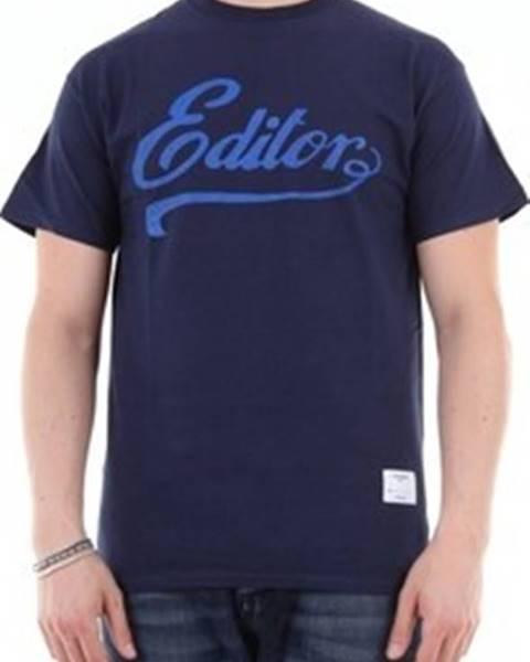 Modré tričko The Editor