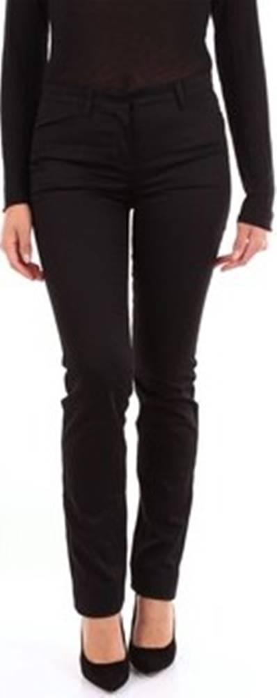 N°21 N°21 Oblekové kalhoty B1210230 Černá