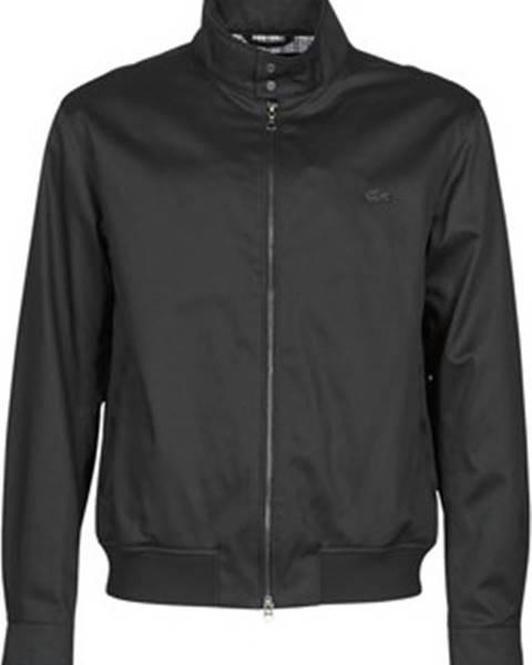 Černá bunda lacoste
