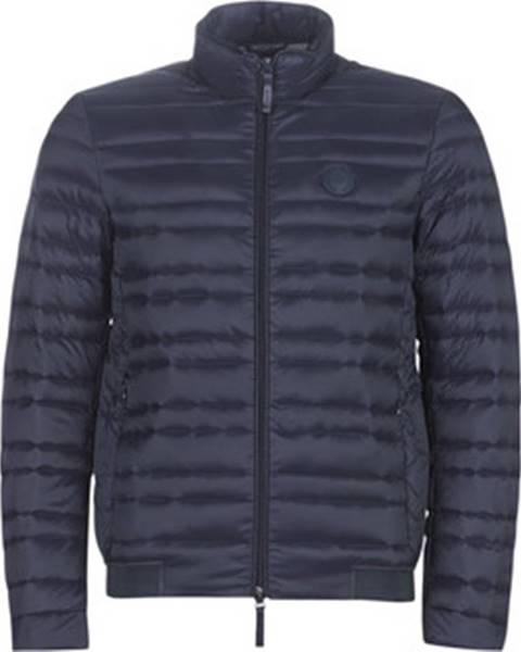 Modrá bunda Armani Exchange