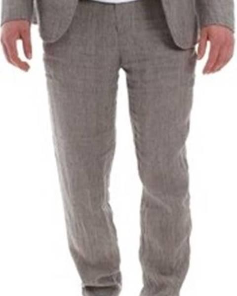 Hnědé kalhoty Sseinse