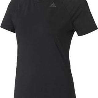 adidas Trička s krátkým rukávem D2M Solid Tee Černá