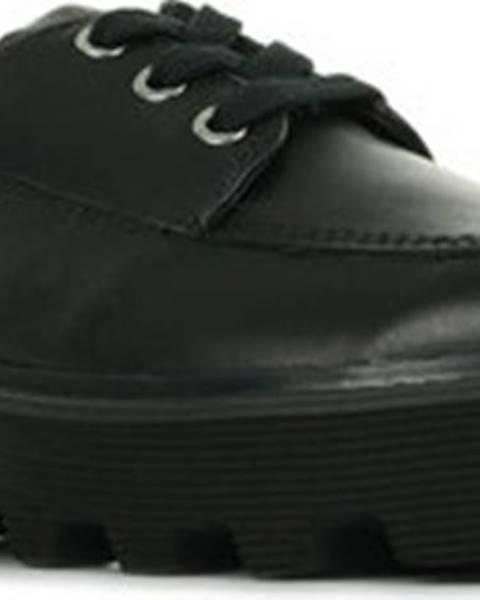 Černé polobotky calvin klein jeans