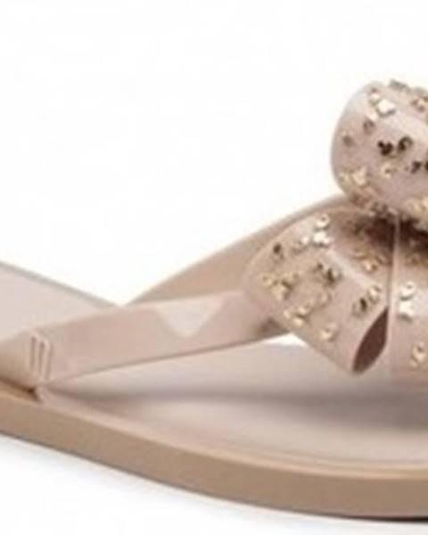 Béžové sandály Melissa