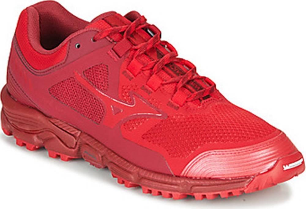 Mizuno Mizuno Běžecké / Krosové boty DAICHI 5 Červená