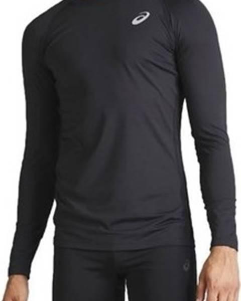 Černé tričko Asics