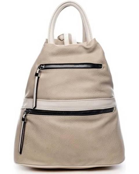 Béžový batoh Romina Co. Bags