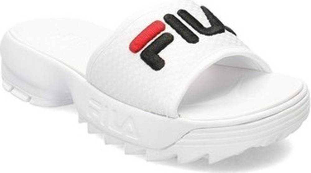 fila Fila pantofle Disruptor Slide Bílá