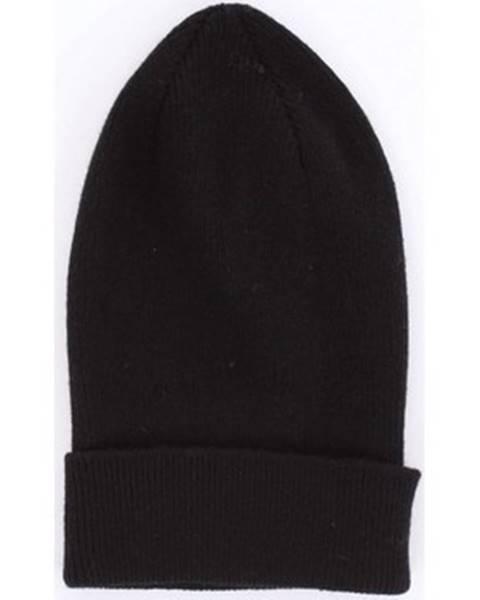 Černá čepice Anonyme