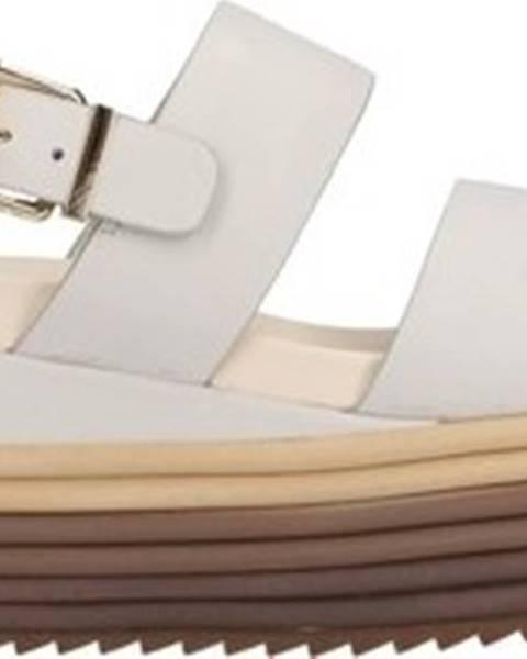 Bílé sandály Rahya Grey