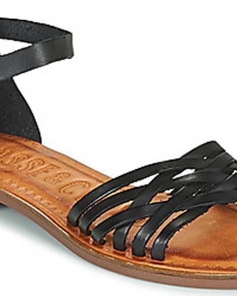Černé sandály Musse Cloud