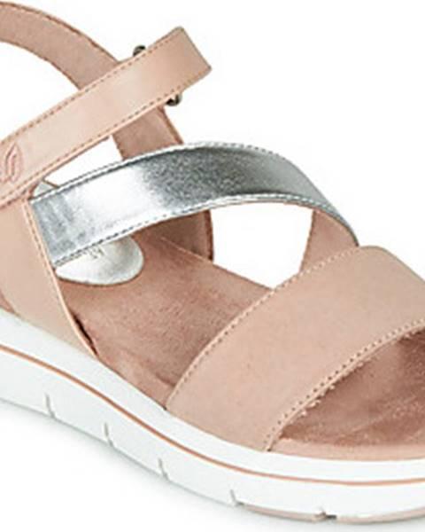 Růžové sandály Marco Tozzi