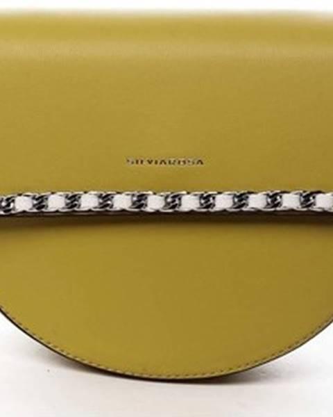Žlutá kabelka Silvia Rosa