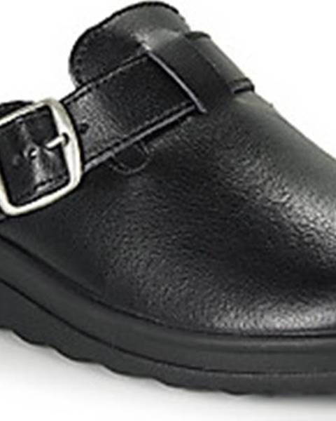 Černé pantofle Romika Westland