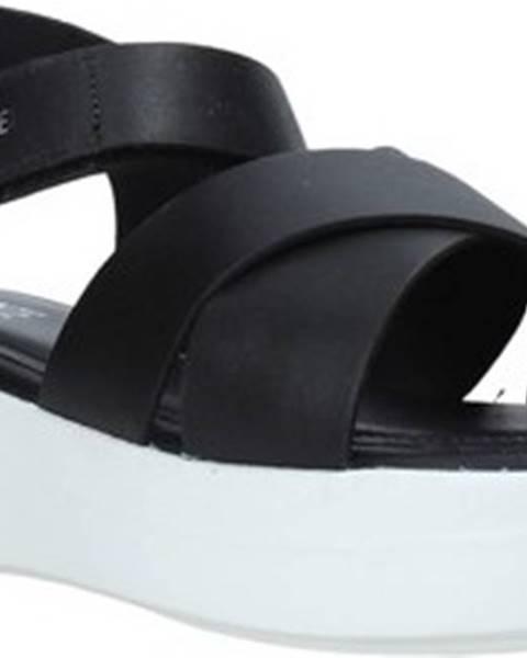 Černé sandály Impronte