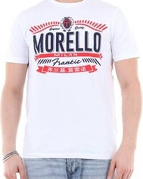 Bílé tričko Frankie Morello