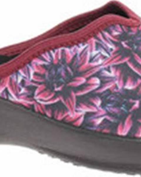 Fialové sandály Rejnok Dovoz